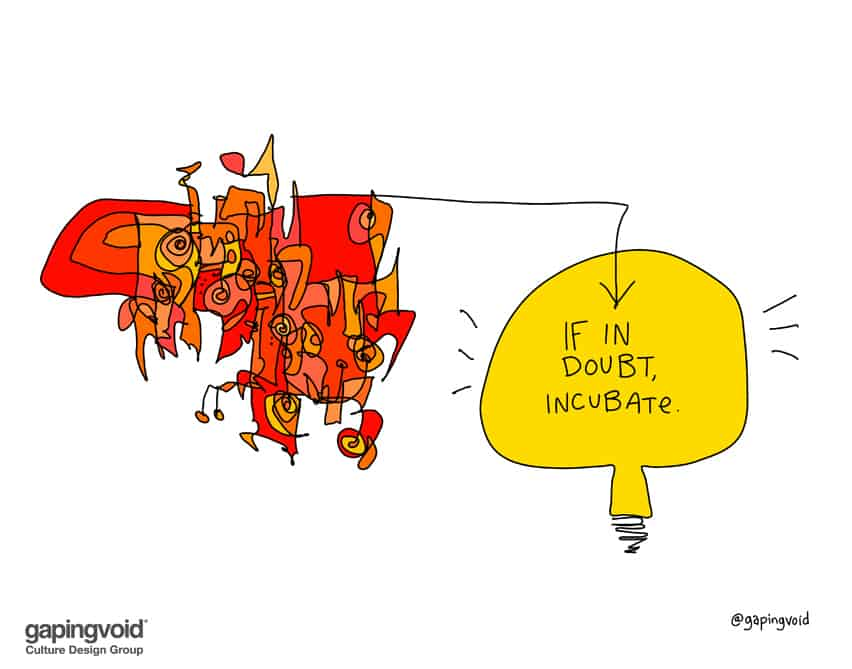 If in doubt incubate
