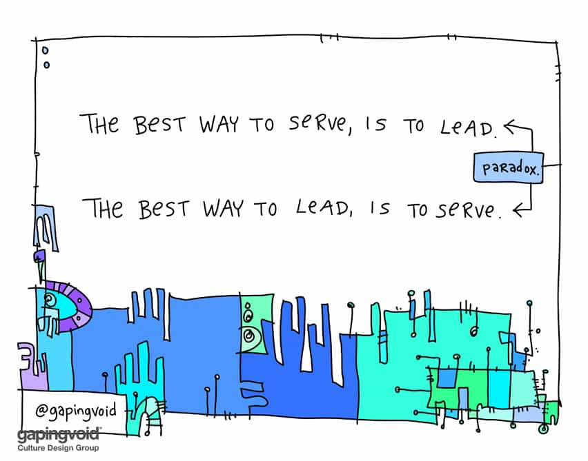 lead serve paradox