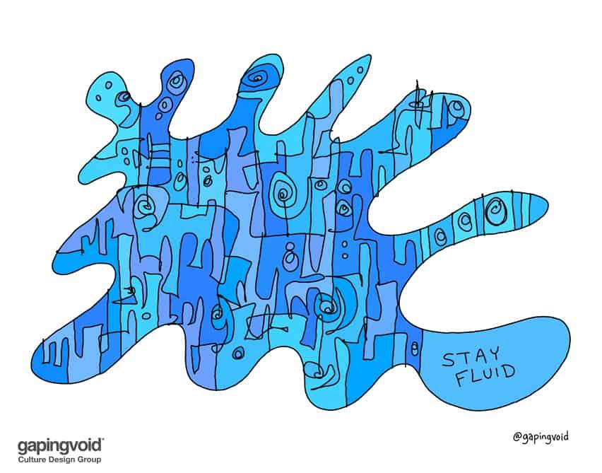 stay fluid