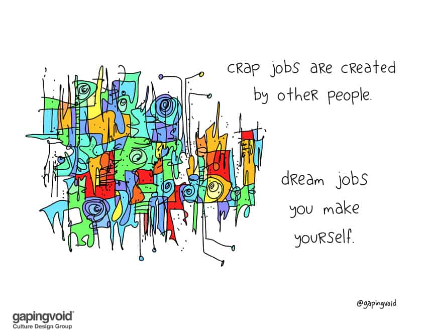 crap jobs are created by other people