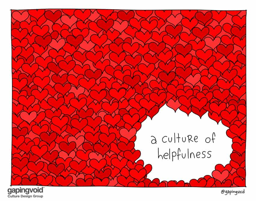 A culture of helpfulness
