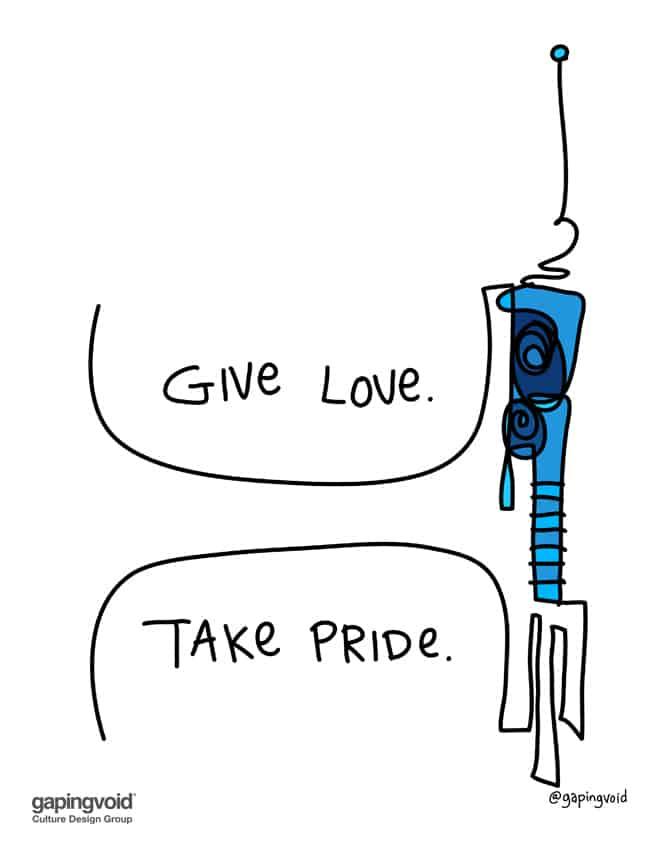 give love take pride