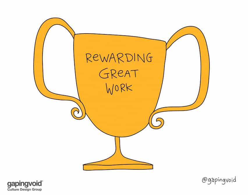 rewarding great work