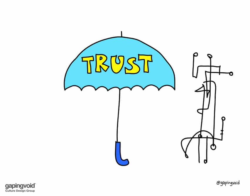Without trust there is nothing