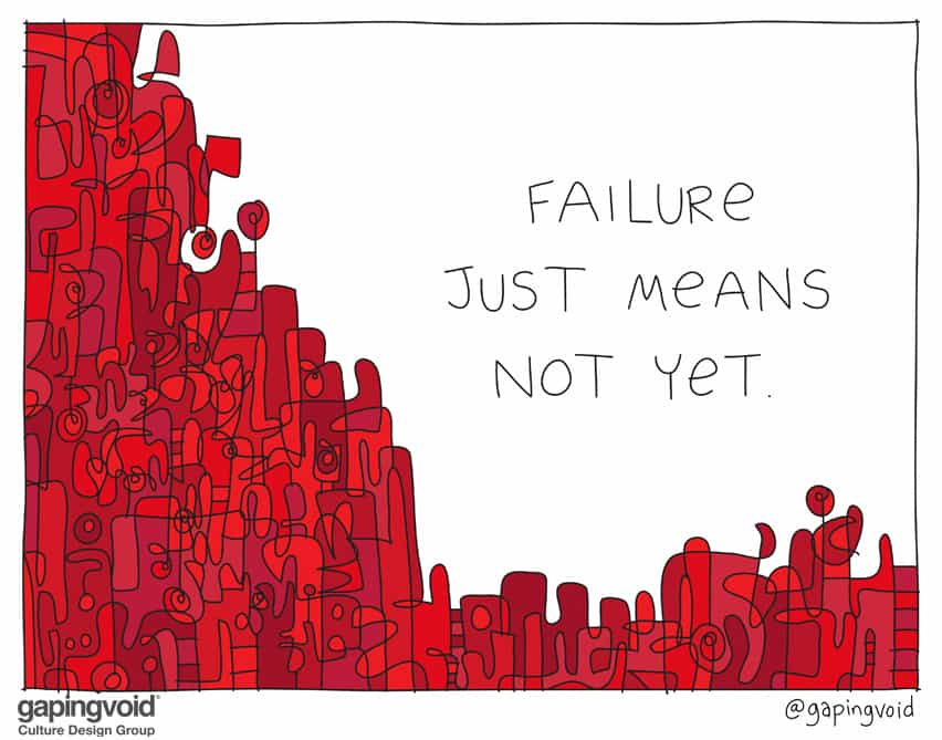 failure just means not yet