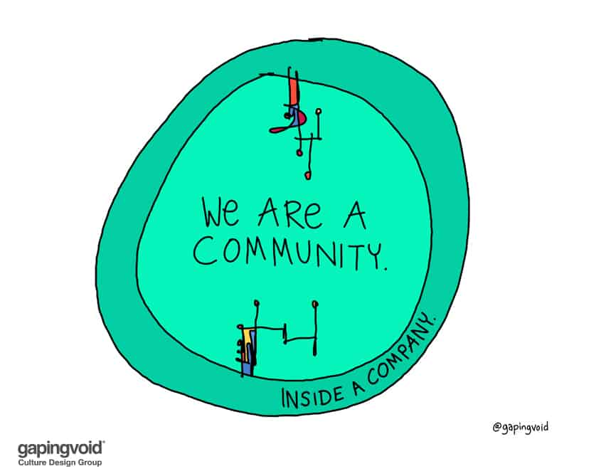 we are a community