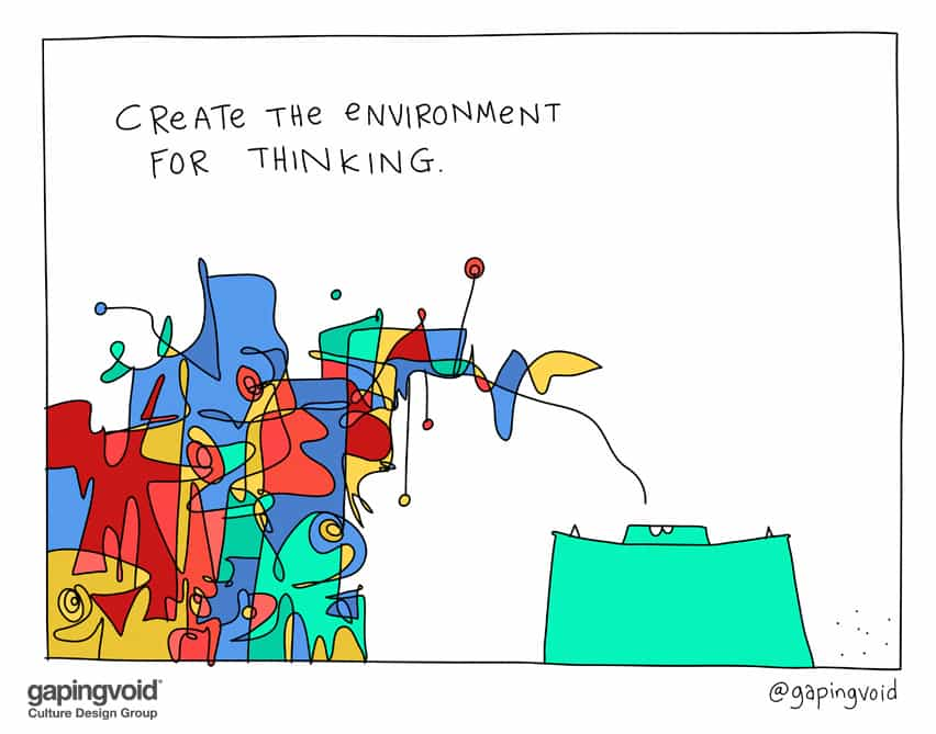 Create the environment for thinking