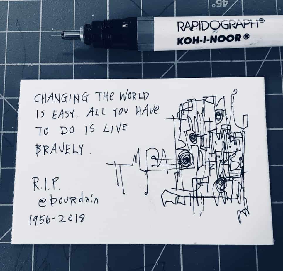 Changing the world is easy