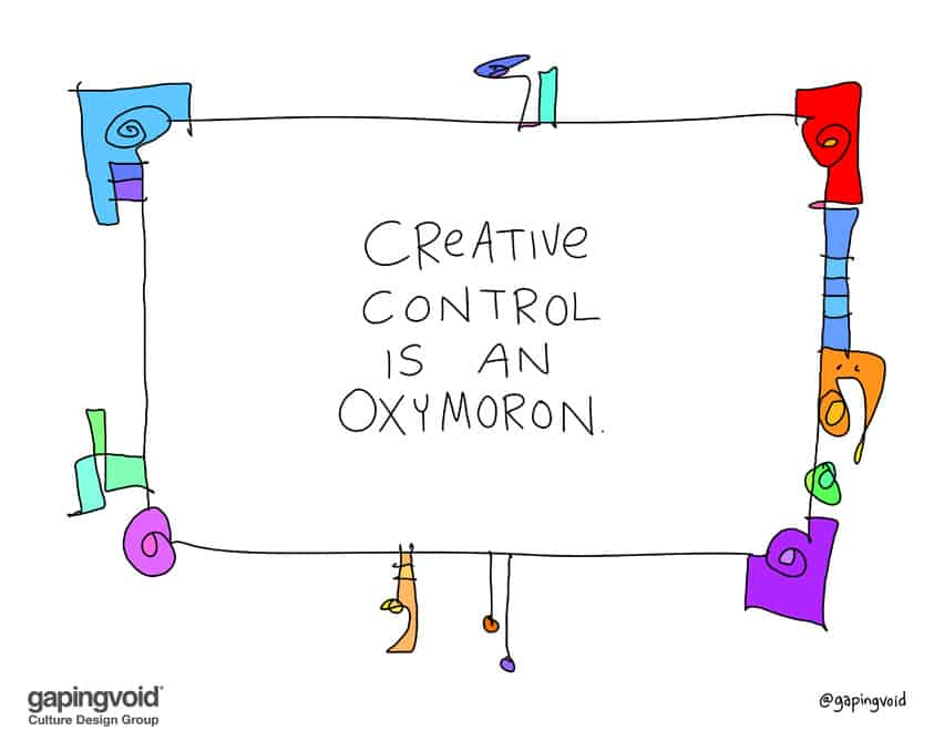 creative control is an oxymoron