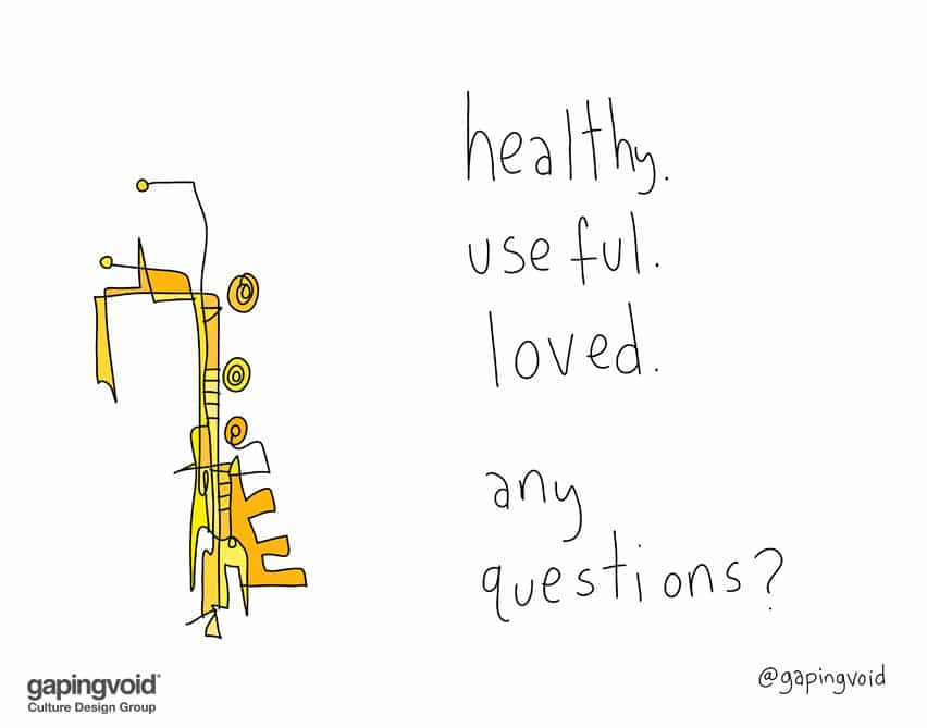 Healthy useful loved