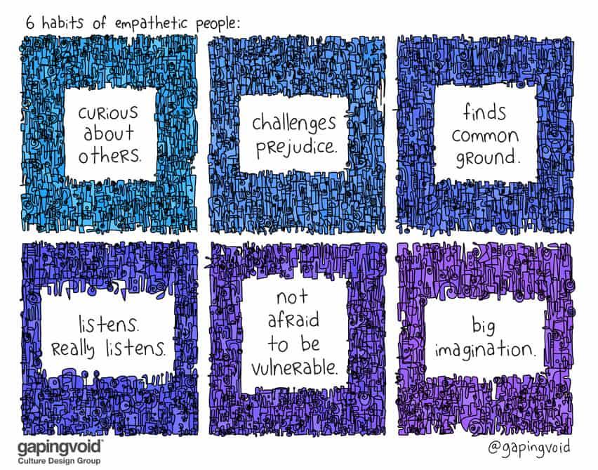 6 habits of empathetic people