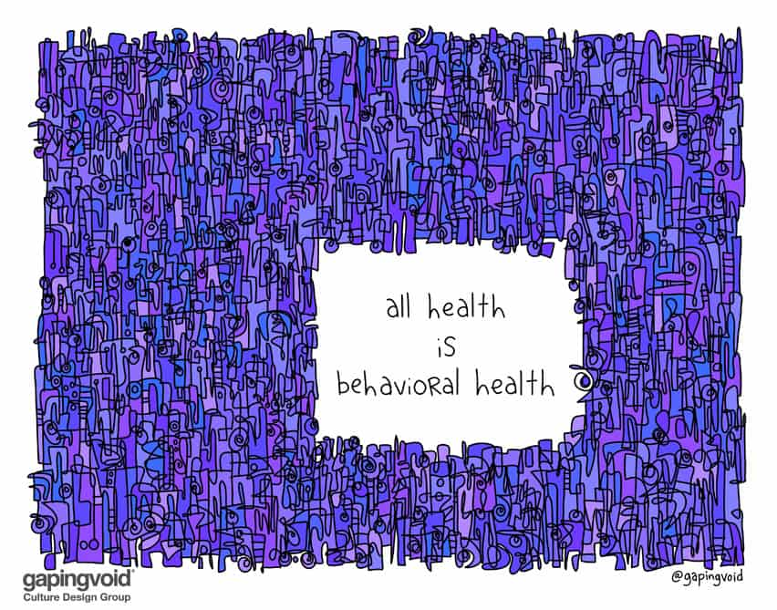 all health is behavioral health
