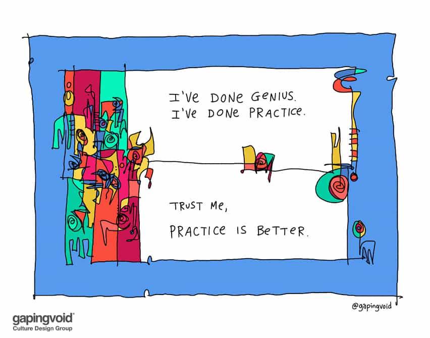 practice is better