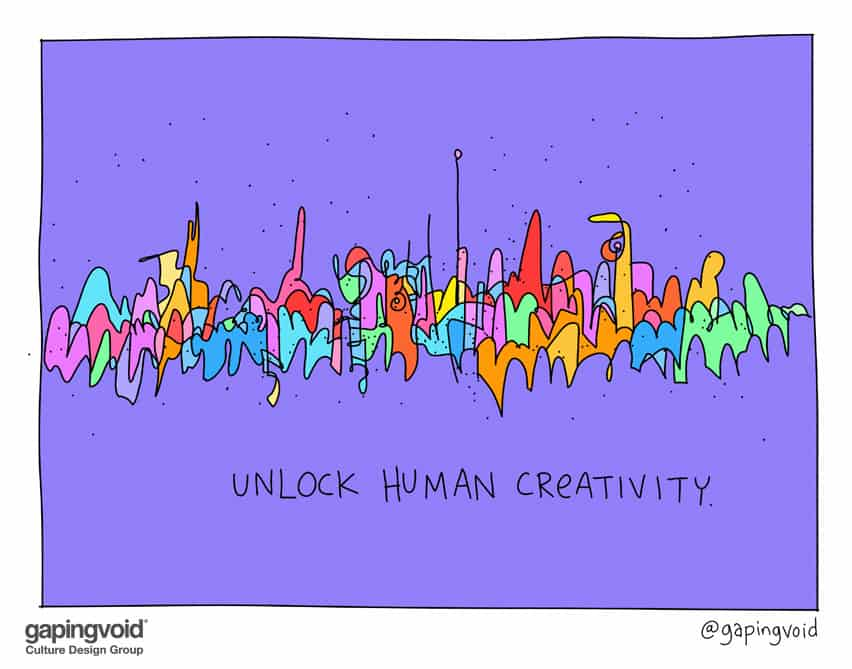 Unlock human creativity