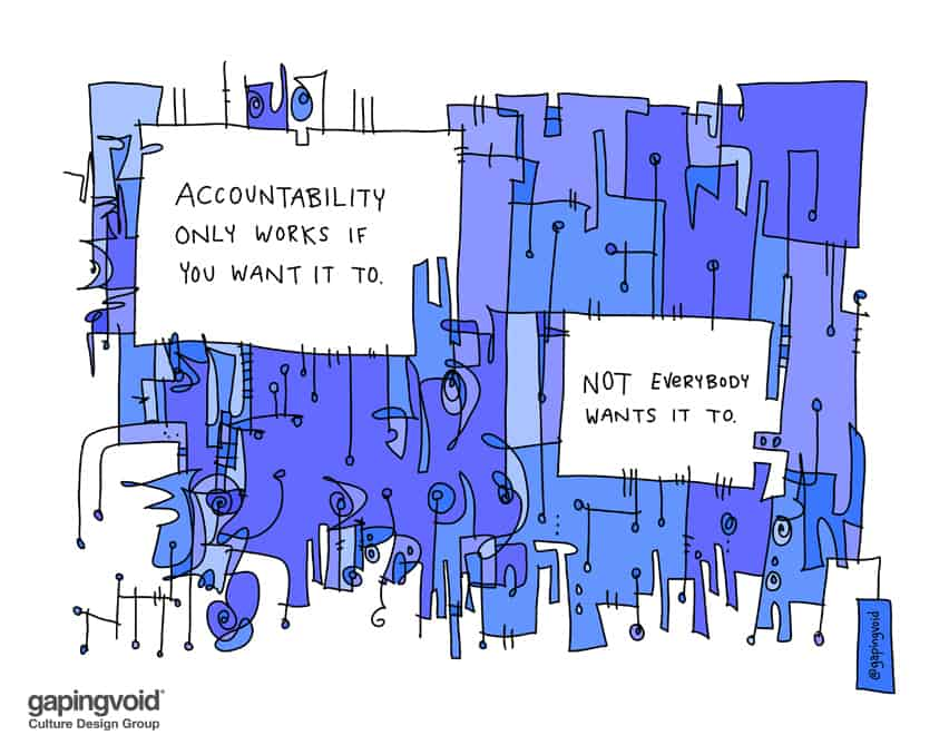 Accountability only works if you want it to