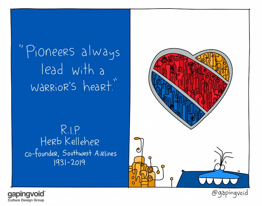 Pioneers lead with a warrior's heart