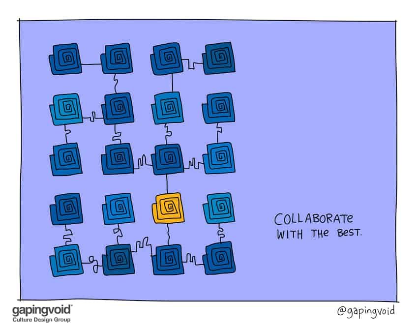 Collaborate with the best
