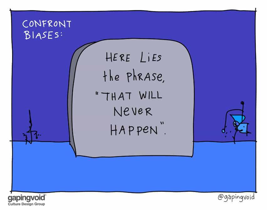 Confront biases