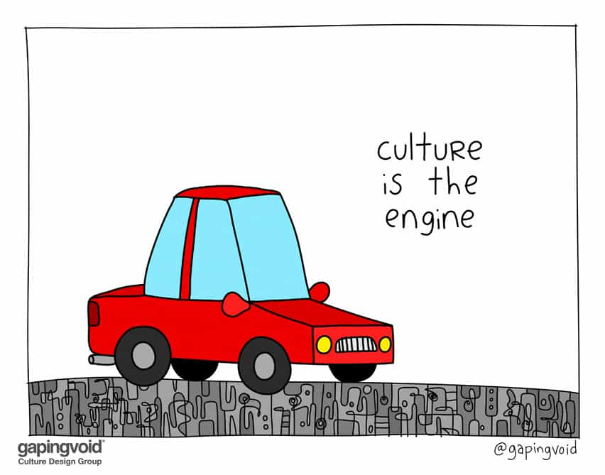 Culture is the engine