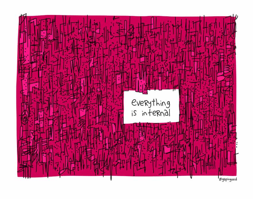 everything is internal