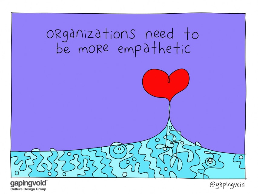 Organizations need to be more empathetic
