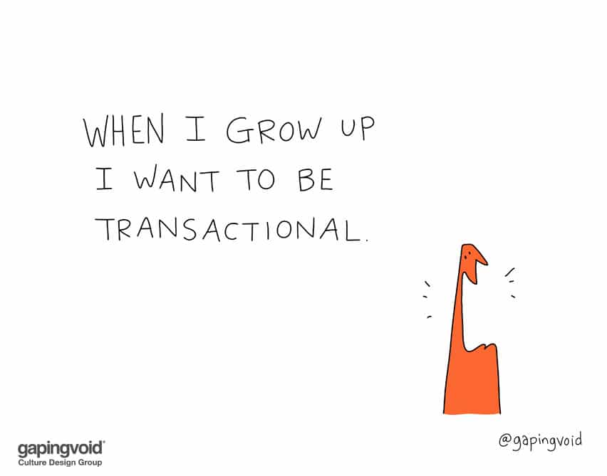 When I grow up I want to be transactional
