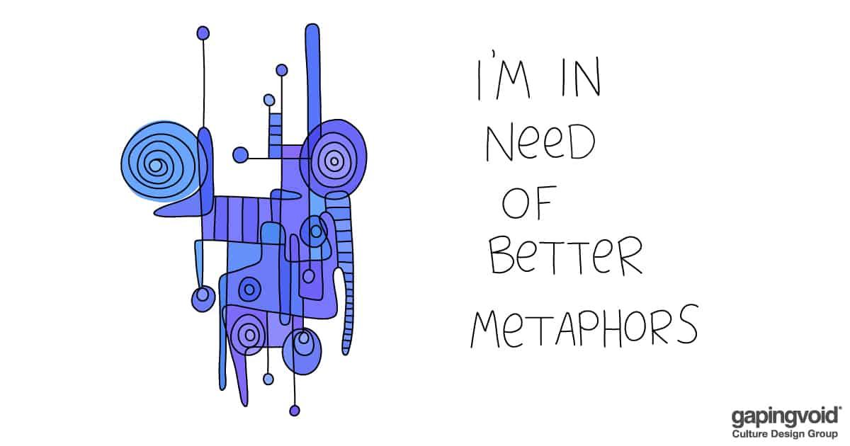 organizational design; I'm in need of better metaphors