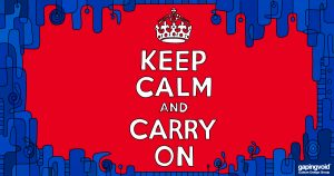 innovation culture; Keep calm and carry on