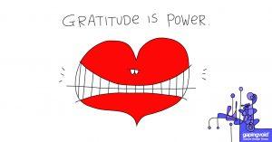 leading through empathy;Gratitude is power