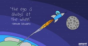 """innovation culture;""""the ego is always at the wheel."""" -Delmore Schwartz"""
