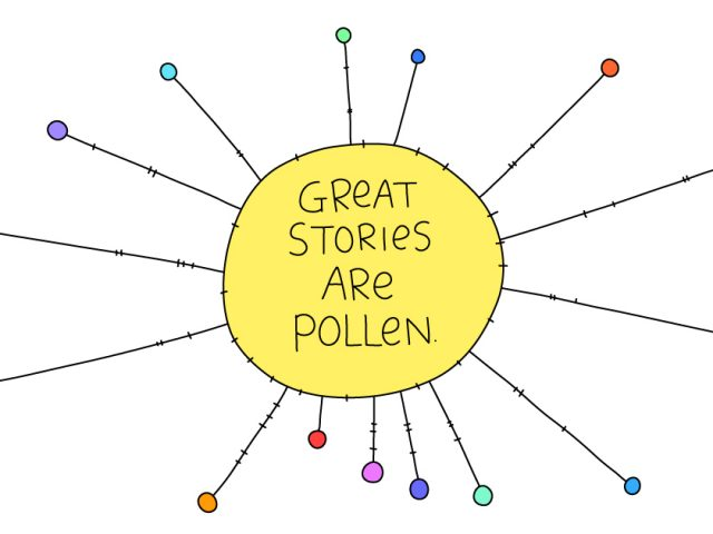 leadership tools;great stories are like pollen