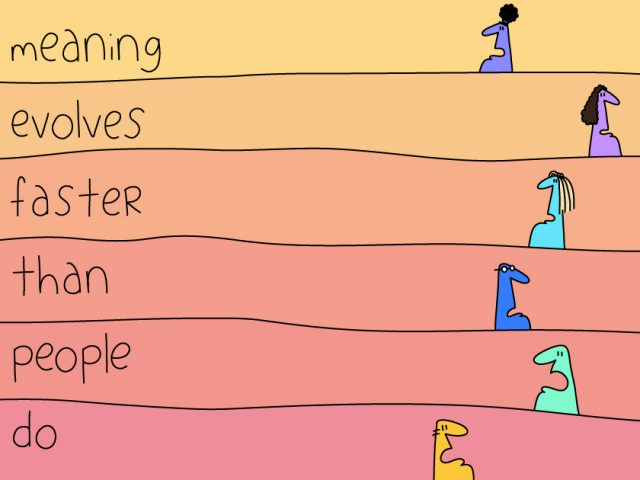 culture as a leadership tool;meaning evolves faster than people do