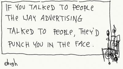 Gaping Void advertising